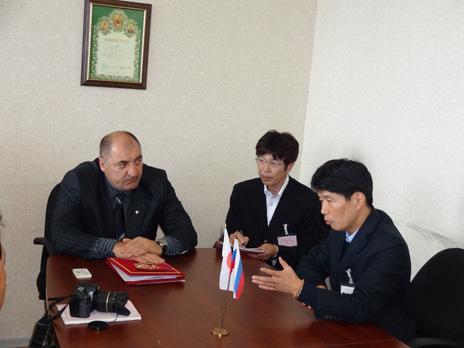 山本北方対策担当大臣、北方領土(国後島・択捉島)訪問
