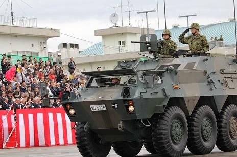 (防災)陸上自衛隊第12旅団訪問