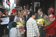 Welcomed by the people of Fukushima