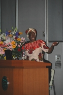 Lecture by Prof. Miriam Were