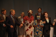 African song and dance performed by Prof. Were